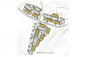 Newbury Village_Site Plan_HUD_Phase 1 - 144 Units.psd